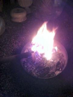 ミニ焚き火